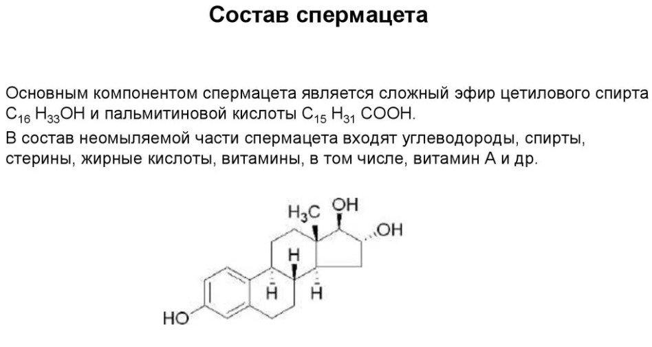 формула спермы