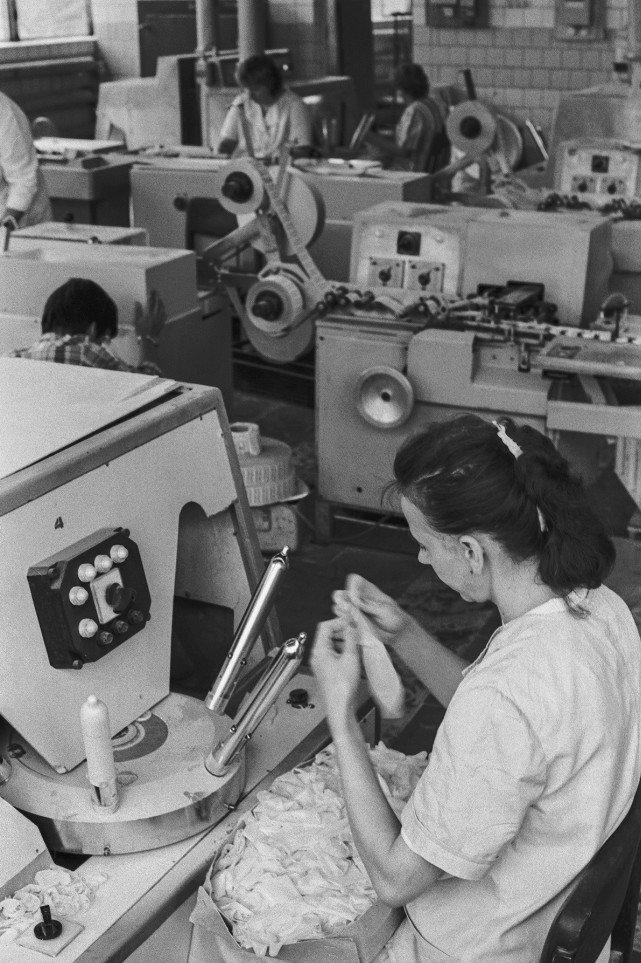 Производство презервативово СССР